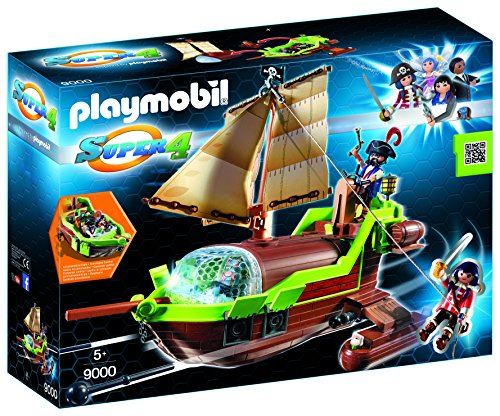 Playmobil-Pirata Camaleón Ruby Barco Personajes serie