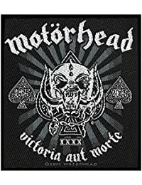 Motörhead Badges Victoria aut Morte 1975–2015 Patch tissé 9 x 10 cm