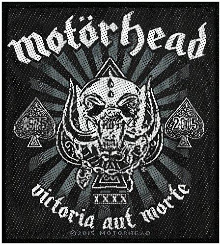 Motörhead toppa Victoria AUT Morte 1975-2015Patch in tessuto 9x 10cm