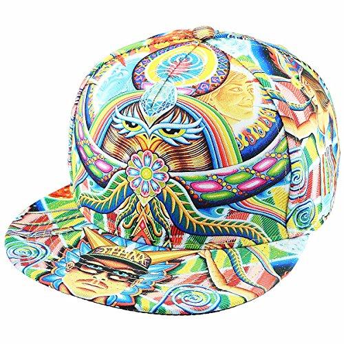 Shanxing Snapback Cap 3D Baseball Kappe Hip Hop Mütze Rapper Cap