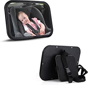 Rear Seat Mirror For Babies Baby Mirror For Car Mirror Child Seat Mirror Car Safety Easy View Back Seat Mirror Child Infant Care Auto