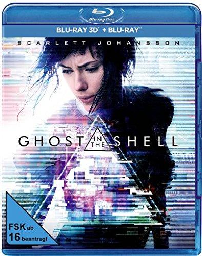 Preisvergleich Produktbild Ghost in the Shell [3D Blu-ray] (+ Blu-ray)