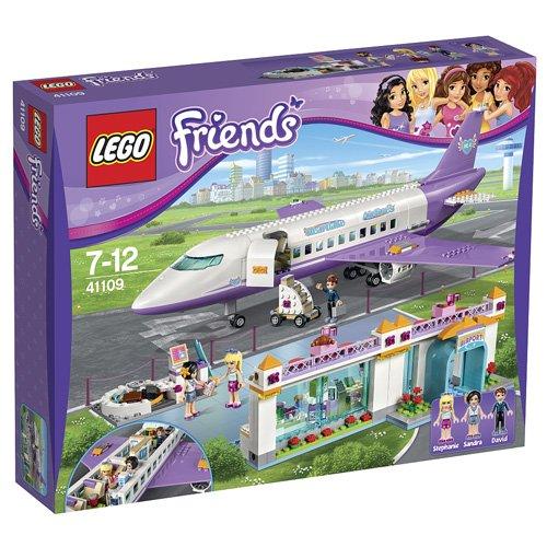 LEGO Friends El Aeropuerto de Heartlake - juegos de construcción (Multicolor, 7 año(s), 692 pieza(s), Chica, 12 año(s), 3 pieza(s))