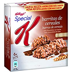 Special K Barrita de Cereales Chocolate con Leche - Pack de 6 x 20 g - Total: 120 g