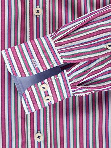 CASAMODA Herren Regular Fit Freizeithemd 441902600/300 Pink