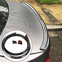 Protector de falda de fibra de carbono para la parte trasera de los labios, 2,5 m x 6,5 cm