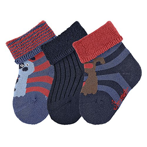 sterntaler-baby-sockchen-3er-pack-hund-calcetines-para-bebes-blau-nachtblau-366-15