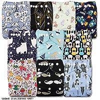 LittleBloom Bebé Pañales Lavables Pañal Reutilizable Insertos, Cierre: POPPER, Set de 10