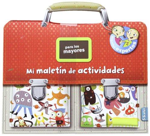 Maletín de actividades para los mayores: Pequeños expertos (Libros juego) por Aa.Vv.