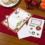 Neviti, kit per lettere a Babbo Natale, multicolore