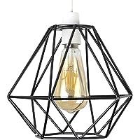 Retro Style Black Metal Basket Cage Ceiling Pendant Light Shade