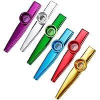 das beliebte Musik-Instrument für Jedermann aus echtem Holz 5 witzige Kazoos