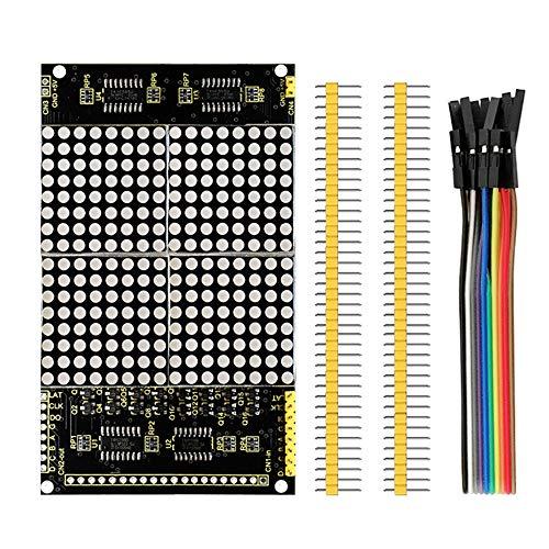 Keyestudio 16x 16Rot LED-Matrix Modul Rot md0262Arduino 74HC595