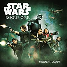 Star Wars Rogue One Official 2017 Square Calendar