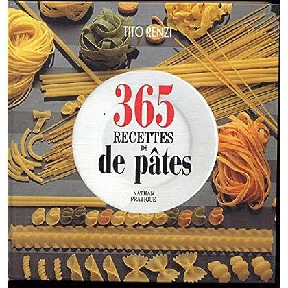 365 recettes de pâtes