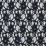 Fabulous Fabrics Spitze klassisch Navy — Meterware ab