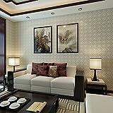YUANLINGWEI Einfache Gitter Wohnzimmer Hintergrund Tapete, Farbe Schlafzimmer Hintergrund Wand Tapeten