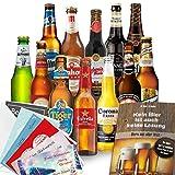 Biere der Welt 12 Flaschen | Männergeschenk