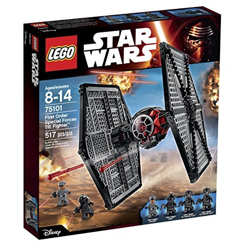 LEGO Star Wars First Order Special Forces TIE Fighter 75101 Building Kit by LEGO