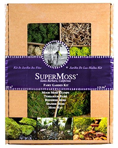 Supermoss 50320 Fairy Garden Kit, gemischte Moose, 8oz.