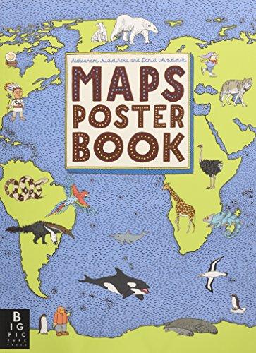 Maps Poster Book por Aleksandra Mizielinski