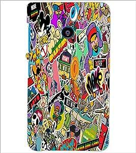 PrintDhaba Graffiti D-5568 Back Case Cover for NOKIA LUMIA 530 (Multi-Coloured)