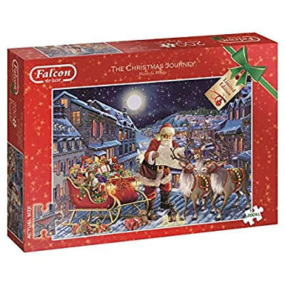 The Christmas Journey - 200 XL Piece Jigsaw Puzzle By falcon de luxe Limited Edition