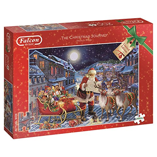 Falcon de luxe The Christmas Journey 200 pieces XL - puzzles (Traditional, Holidays, Adults, 12 year(s), Man/Woman, Cardboard)