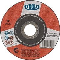 Tyrolit 41disco de corte recto, tejido unidas, medidas 115x 1,0x 22,23mm, 25unidades, 222894