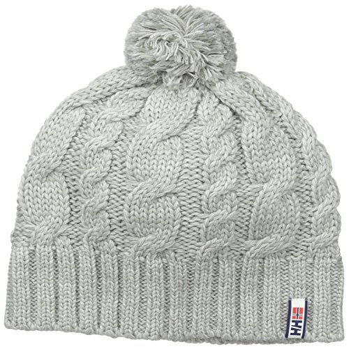Helly Hansen Montreal Chunky Knit Bonnet Mixte, Ecru, Taille Unique