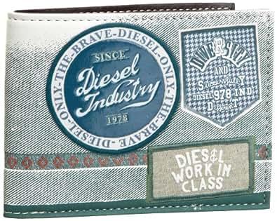 Diesel money neela porte monnaie homme noir white smoke black 8x11x1cm - Porte monnaie homme diesel ...