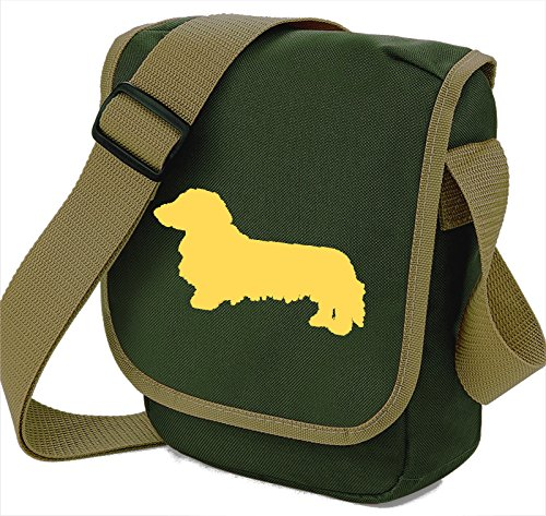 Bag Pixie - Borsa a tracolla unisex adulti Fawn Dog Olive Bag
