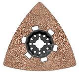Bosch 2609256F13Schleifplatte AVZ 90RT2Körnung 20Zubehör Starlock, schwarz