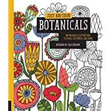 Botanicals: 30 Original Illustrations to Color, Customize, and Hang