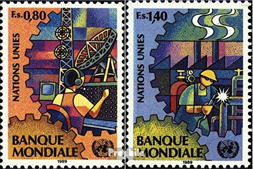 UNO - Genf 173-174 (kompl.Ausg.) 1989 Weltbank (Briefmarken für Sammler)