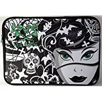 Loween Laptop Carrying Case Funda de Michael Ward. Diseño: Manija y correa de hombro