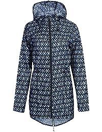 Men's Ladies Festival Print Fishtail Mac Kagool Raincoat Parka Jacket Size