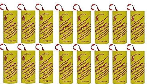 4 Packungen Fliegenfänger Leimrollen Fliegenfalle Insektenfalle (4) -