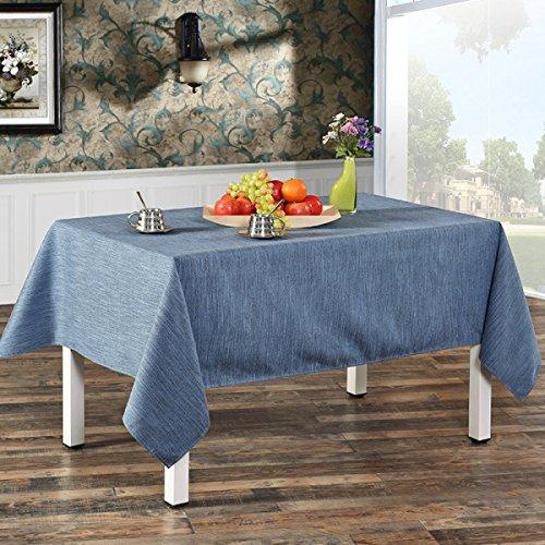 LTCGDB épaissir Coton Restaurant Table Basse De Salon Nappe De Mariage Pique-nique Lavable,H-138*138cm