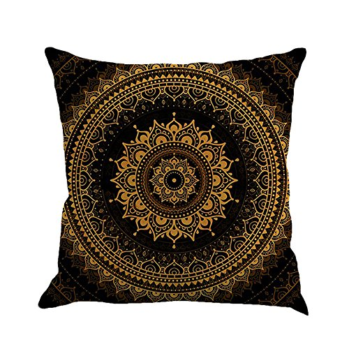 TTLOVE Geometrie Malerei Leinen Kissenbezug Dekokissen Fall Sofa Home Decor KissenhüLle Pillow Cover Pillowcase KissenbezüGe StandardgrößE Queen King(Mehrfarbig9)