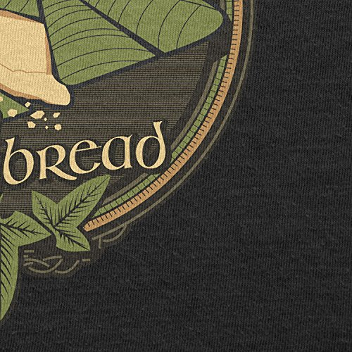 TEXLAB - Lembas the Elvish Waybread - Damen T-Shirt Schwarz