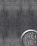 Wandpaneel 3D WallFace 13521 CROCO Design Platte Struktur Blickfang Dekor selbstklebende Tapete schwarz silber   2,60 qm