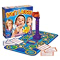 Kid's Board Game Don't Laugh and AmazonBasics batteries