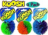 Koosh Balls Multi-Color Gift Set Bundle - 3 Pack by Koosh