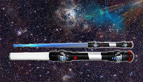 KSS Laserschwert Lichtschwert Star Wars 104cm + Blauem Licht + Sound + Vibration (Force Kostüm The Skywalker Luke Awakens)