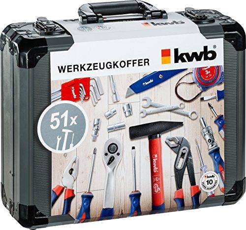 Kwb coffret 370740 51 pièces
