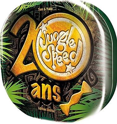 Asmodée Editions - A1403062 - Jeu Educatif - Jungle Speed Spécial - 20 Ans