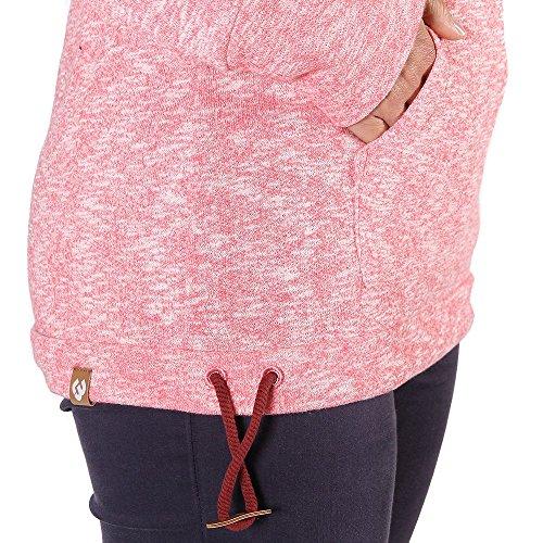 Ragwear Chloe Hooded Sweat Pink Rose