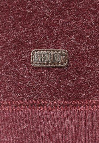 Khujo Nanda Women Sweater Knit Weinrot
