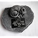 ClassCast Sleeping CAT MEMORIAL PERSONALISED Rock Stone SYMPATHY PET Grave stone Bereavement 7